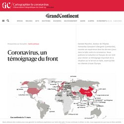 Coronavirus, un témoignage du front - Le Grand Continent