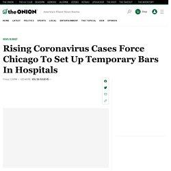 Rising Coronavirus Cases Force Chicago To Set Up Temporary Bars In Hospitals