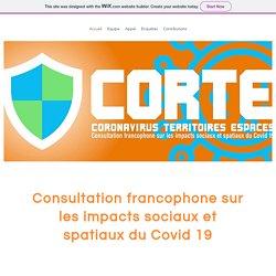 CORTE Coronavirus Espaces Territoires