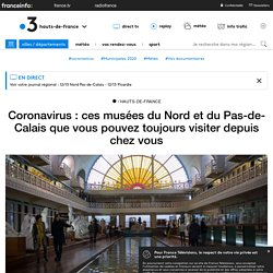 Ces musées du Nord et du Pas-de-Calais que vous pouvez toujours visiter depuis chez vous