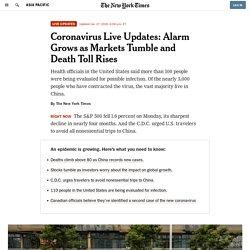 Aktualizowane na bieżąco informacje z NYT