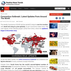 Updates on Global Pandemic