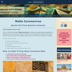 Malta Coronavirus: Latest Updates, Cases, Quarantine & Travel Ban