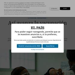 Coronavirus: Así avanza la vacunación contra la covid-19 en México