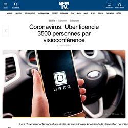 Coronavirus: Uber licencie 3500 personnes par visioconférence