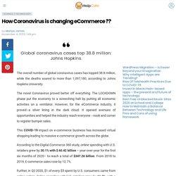 How Coronavirus is changing eCommerce ?? - WriteUpCafe.com