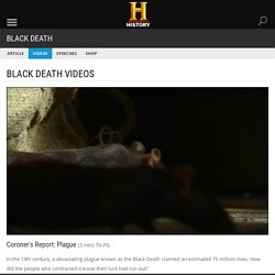 Coroner's Report: Plague Video - Black Death