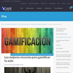 Los mejores recursos para gamificar tu aula - Corporación CIAPECorporación CIAPE