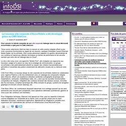 Le nouveau site corporate d'AccorHotels a été développé grâce au CMS SiteCore