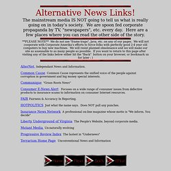 Corporate Wars-Alternative News Links
