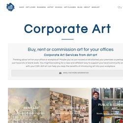 Corporate Art - dot-art