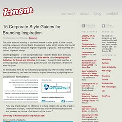 15 Corporate Style Guides for Branding Inspiration