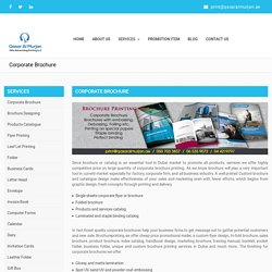 Brochure Templates Dubai