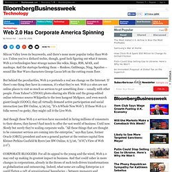 Web 2.0 Has Corporate America Spinning