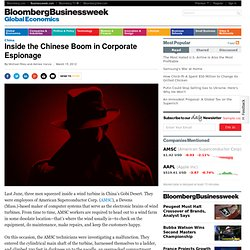 Inside the Chinese Boom in Corporate Espionage