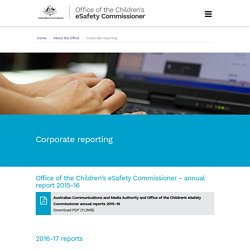 Office of the Children's eSafety Commissioner
