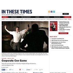 Corporate Con Game