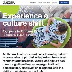 Corporate Culture 2020 - Conference Board of Canada