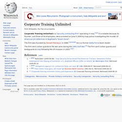 Corporate Training Unlimited