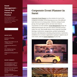 Corporate Event Planner in Surat