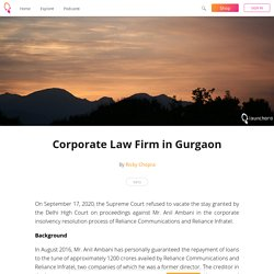 Corporate Law Firm in Gurgaon