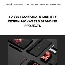 50 Best Corporate Identity Design Packages & Branding Projects