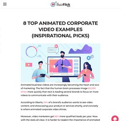 8 Top Animated Corporate Video Examples (Inspirational Picks)