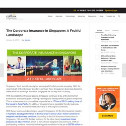 The Corporate Insurance in Singapore: A Fruitful Landscape