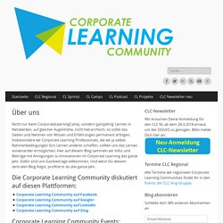Über uns – Corporate Learning Community
