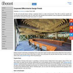 Corporate Office Interior Design Trends