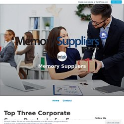 Top Three Corporate Swag Products for Every Startup Business