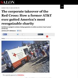 Former AT&T exec gutted Red Cross