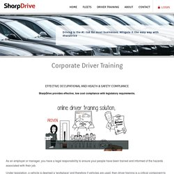 Corporate Driver Training