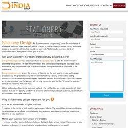 Stationery Design Service