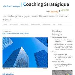 Corporate Finance et Haut Potentiel - Coaching Stratégique Paris