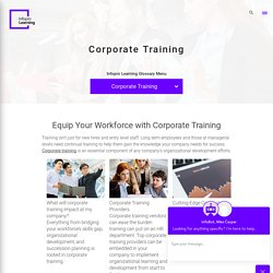 Equip Your Workforce with Corporate Training