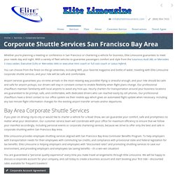 Employee Shuttle Services San Francisco - Elite Limousine