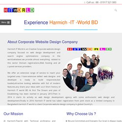 Corporate Website Design Company Harmich IT World BD