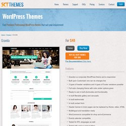 Gravida Corporate WordPress Theme for corporate websites