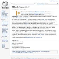 Tikkurila (corporation)