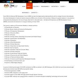 SME Corporation Malaysia - National Entrepreneur and SME Development Council (NESDC)