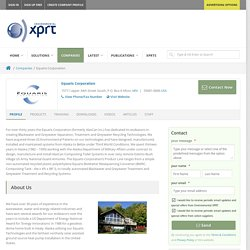 Equaris Corporation Profile on Environmental XPRT