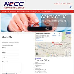 North Eastern Carrying Corporation Ltd: Freight Forwarding Companies