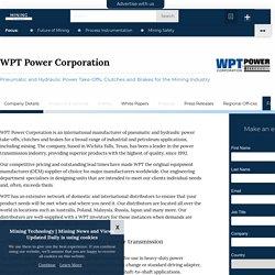 WPT Power Corporation - Mining Technology