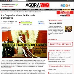 X - Corps des Mines, le Corporis Dominantis