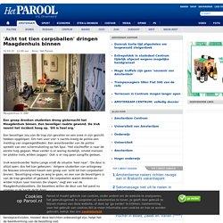'Acht tot tien corpsballen' dringen Maagdenhuis binnen - AMSTERDAM CENTRUM