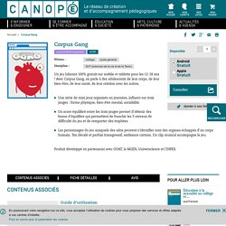 Application iTunes Corpus Gang - Canopé