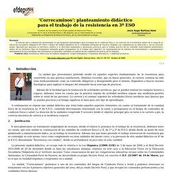 'Correcaminos': planteamiento didáctico para el trabajo de la resistencia en ...