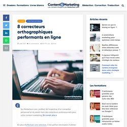 7 correcteurs orthographiques performants en ligne > Blog redacteur.com