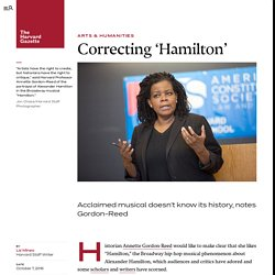 Correcting 'Hamilton'